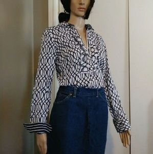 Charter Club Button Down Blouse